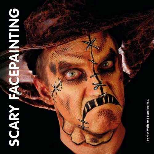 Superstar Scary Facepainting