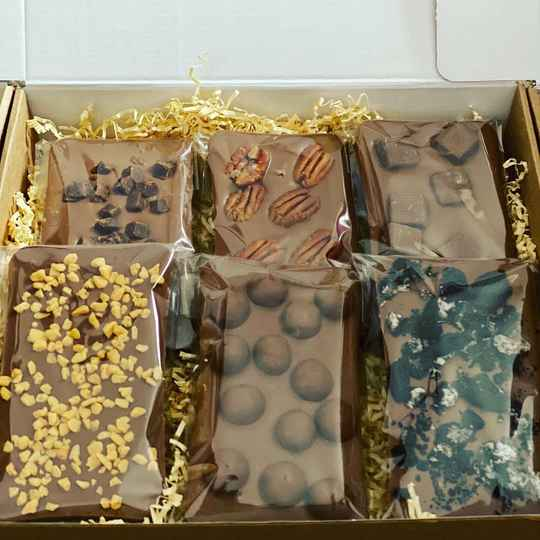 Gift Idea Sixes Chocolate Gift Box