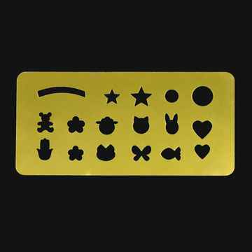 Metal Plate for Stamp Decoration- 03