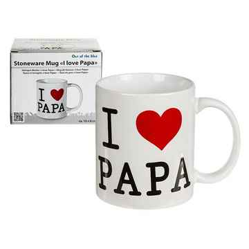 Mok I love papa Ø8x10cm in giftbox