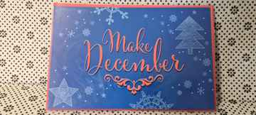 Wenskaart Make december.. a month to remember