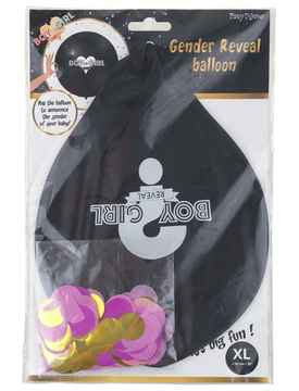 36 inch Ballon Girl Reveal XL (92 cm)