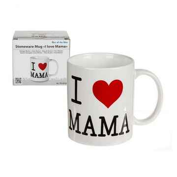 Mok I love mama Ø8x10cm in giftbox