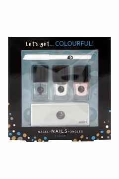 Let's Get Colourful Geschenkverpakking French Manicure