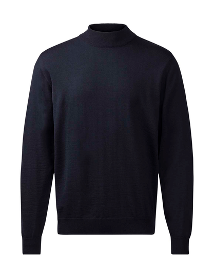 Turtleneck trui Navy 90202