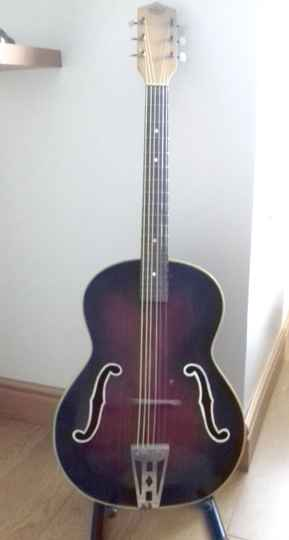 Late 1950's Antoria Acoustic Guitar