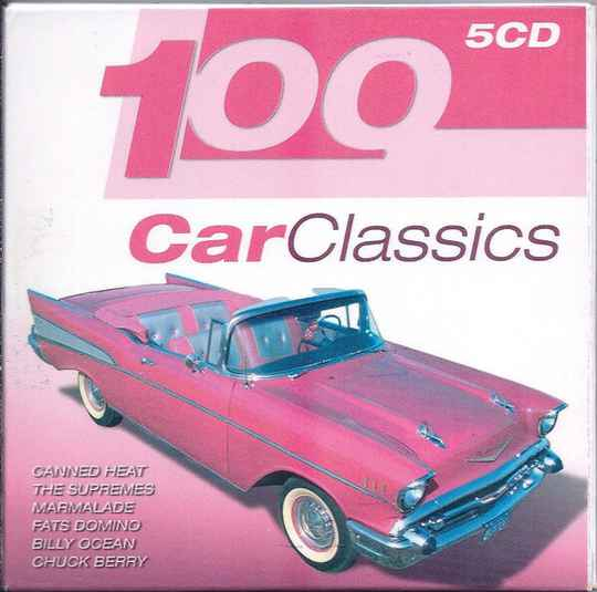 100 Car Classics by Various Artists (5 CD)
