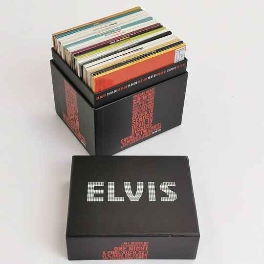 ELVIS PRESLEY The 18 UK Nr 1s Collectors Series