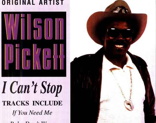 Wilson Picket - I Can't Stop