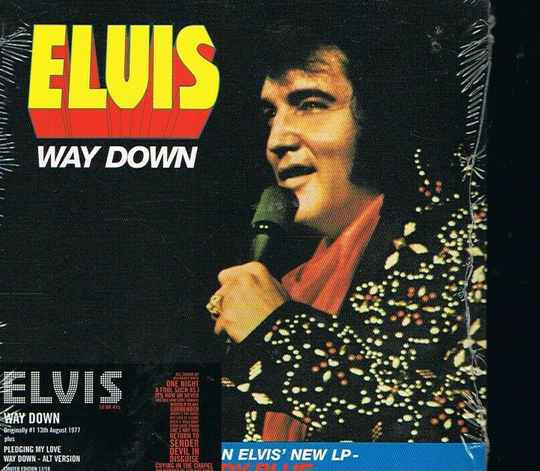 Elvis Presley - Way Down (2005 Limited Edition Numbered CD Single)