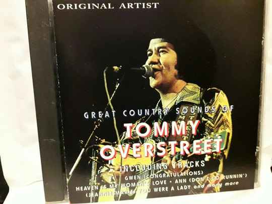 Tommy Overstreet - Great Country Sounds of