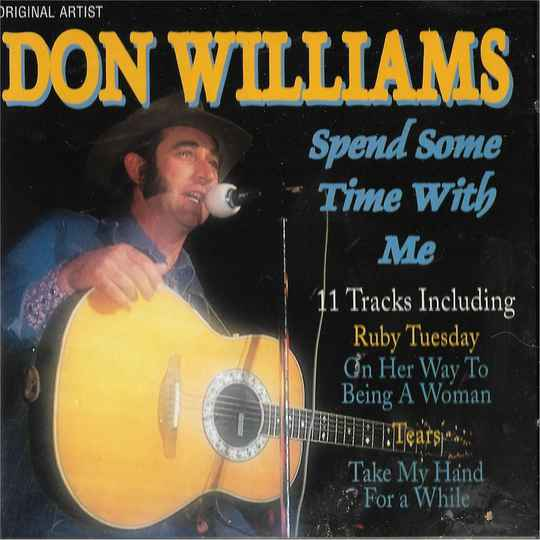 Don Williams - Spend Some Time With Me