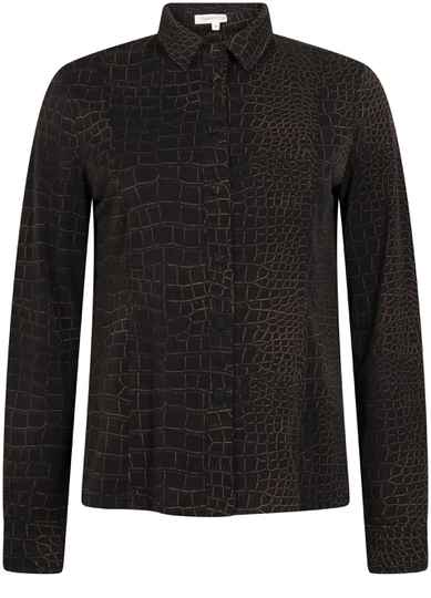 BLOUSE TRAVEL CROCO PRINT