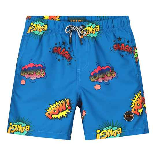 Shiwi Boys Swimshort Pow Wow Electric Blue