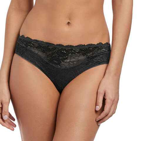 Wacoal Lace Perfection Brief Charcoal