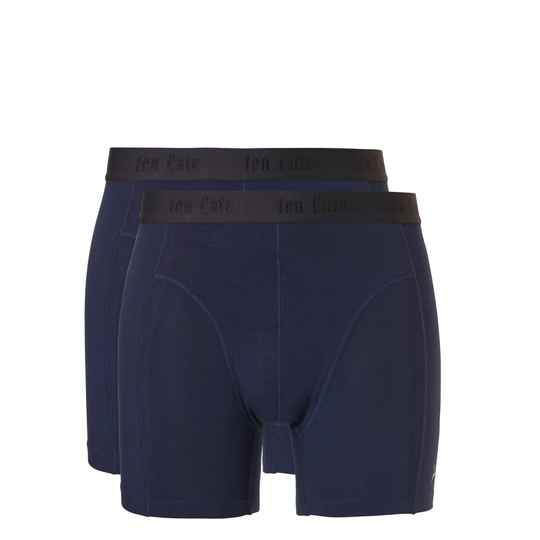 ten Cate Fashion Bamboo Boxers 2-pack Navy