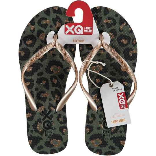 Sarlini Slippers Panther Green
