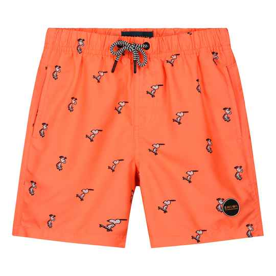 Shiwi Boys Swimshort Snoopy Neon Orange