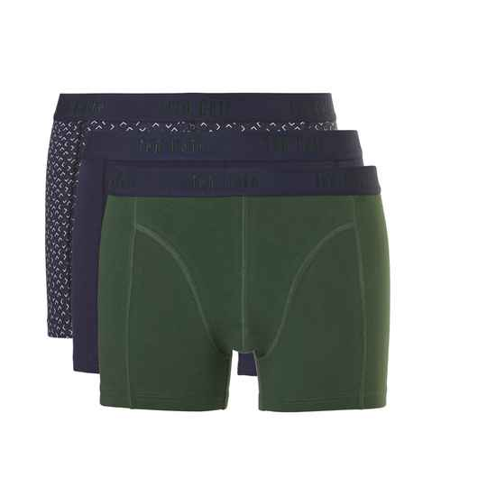 ten Cate Fashion Boxers 3-pack Green