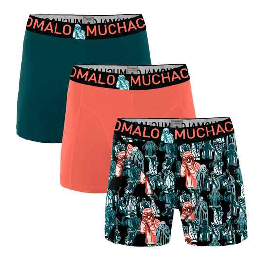 Muchachomalo Boys Boxers 3-pack Camera