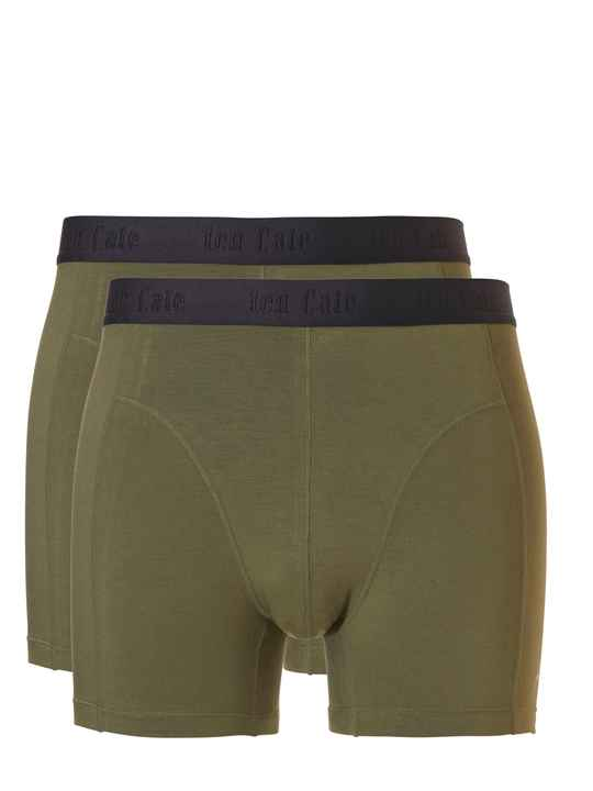 ten Cate Basic Bamboo Boxers 2-pack Green