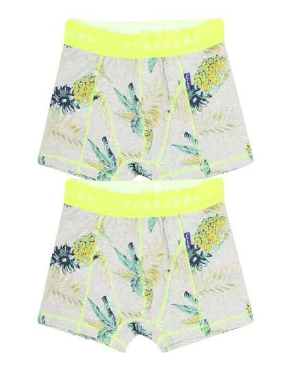 Claesen's Fashion Boxers 2-pack Pineapple