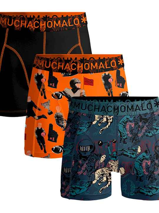 Muchachomalo Boxers 3-pack Sports