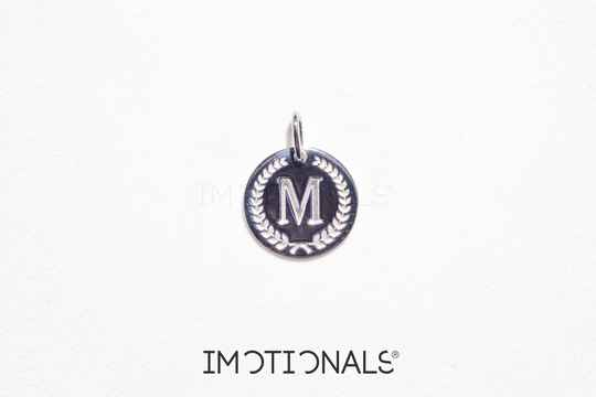 Imotionals Coin Hanger Letter M Zilver