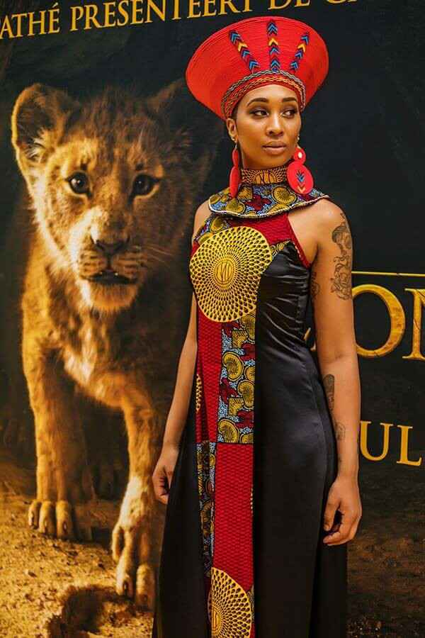 The lion queen dress