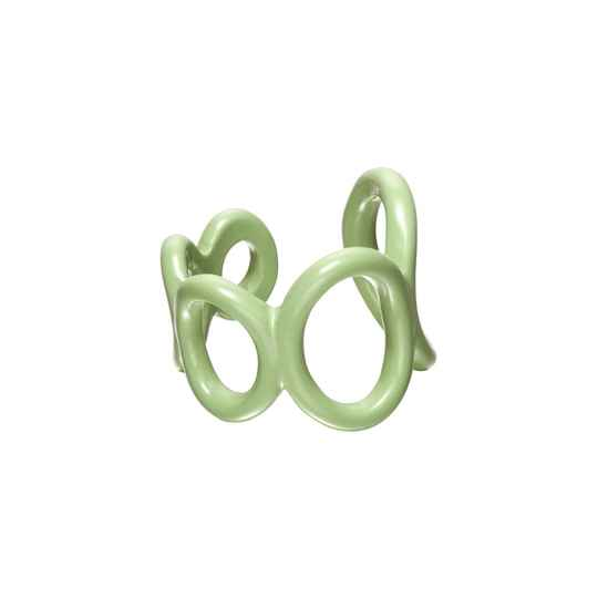 Bubble Ring Green
