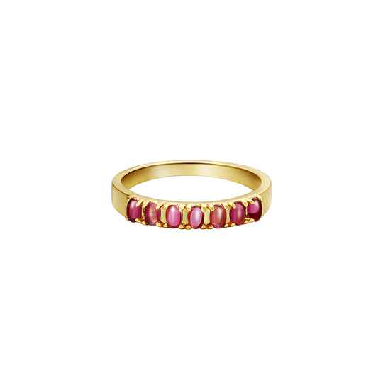 Aimee ring pink
