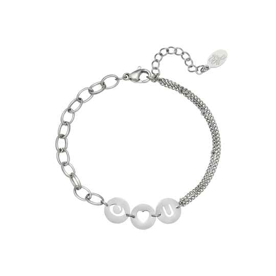 Eyes on you bracelet silver
