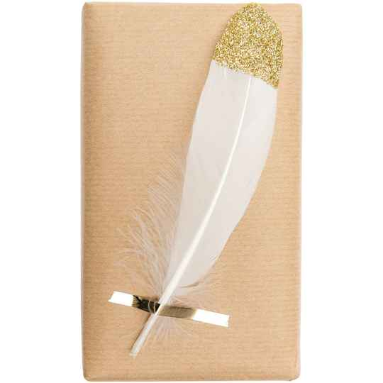 Ohhh! Lovely! Gold feathers