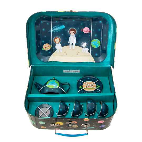SPACE EXPLORER KIDS' TEA SET
