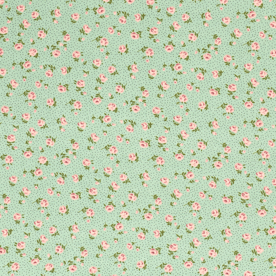 Viscose flowers mint
