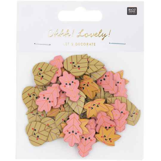 Ohhh! Lovely! Confetti leaves