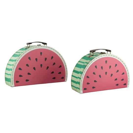 WATERMELON SUITCASES - SET OF 2