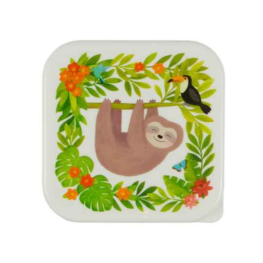 SLOTH AND FRIENDS LUNCH BOX