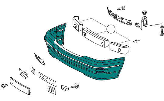 AMG Front Bumper Panelling SL Class (R129) [PRO000432]