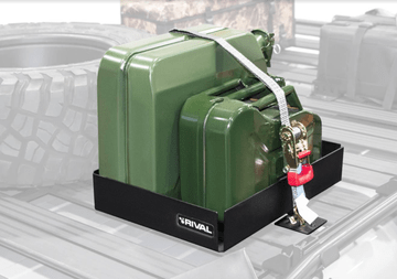 Rival Double Jerry Can Holder For Rival Modular Rack G-V-X Class (W460-W461-W463-W463a-W447-W639-W470) [PRO000414]