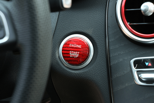 Engine Start Button Cover Red [PRO000528]