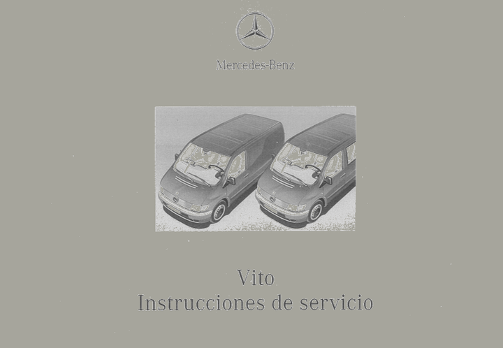 Mercedes-Benz W638 Spanish 2001 Owners Manual [6385842196]