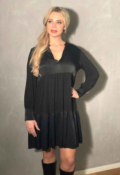 Nero Dress Zwart