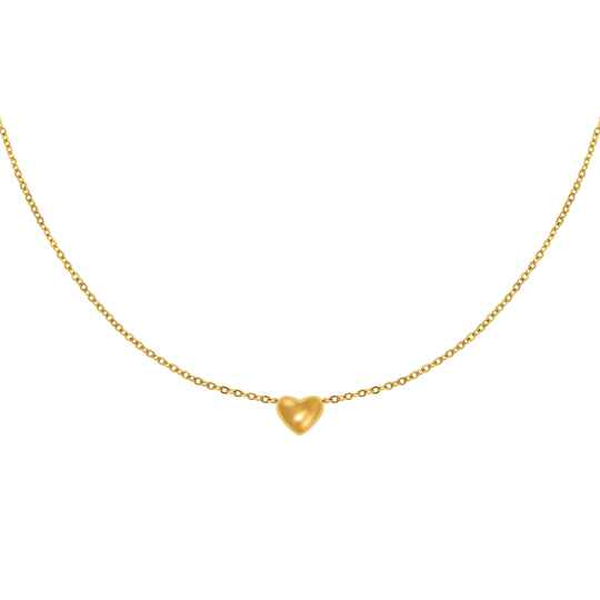 Always in my Heart Necklace gold