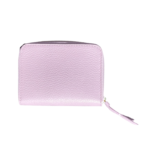 Wallet Leather lila