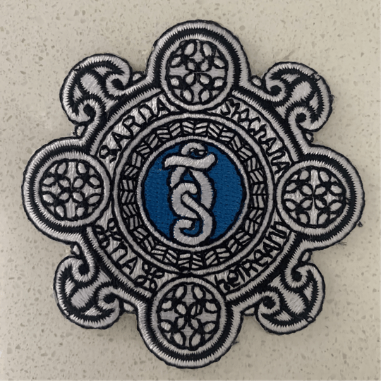 AGS - IRON ON PATCH