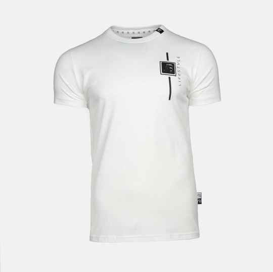 AB LIFESTYLE LUCA TEE - WIT