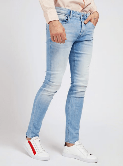 GUESS JEANS MIAMI LICHTBLAUW