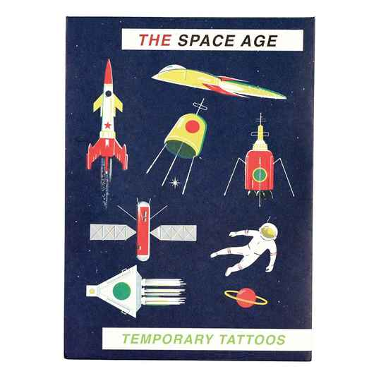 Temporary tattoos 'the Space age'