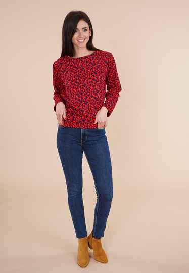 Princesse Nomade - Trui / Sweater 'Fred' rood